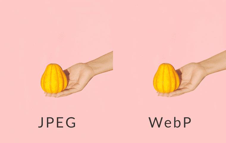 Comparing JPEG image to WebP image