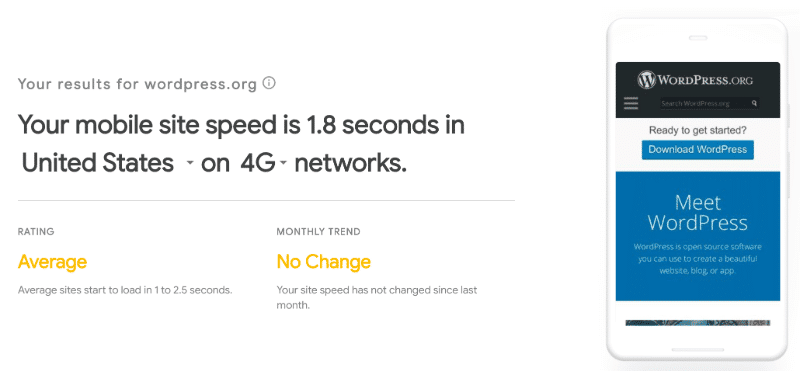 how to test mobile site speed with Google