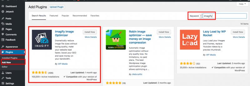 Imagify WordPress Repository