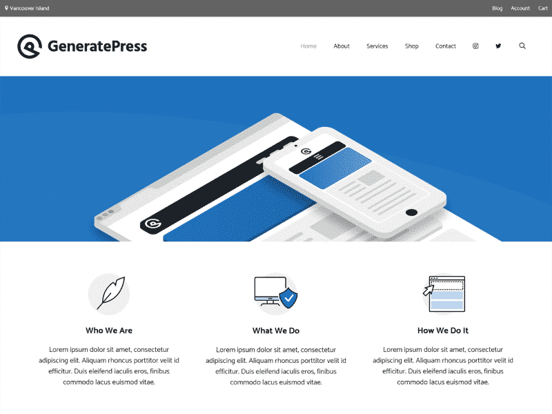 Which are the fastest free WordPress Themes - GeneratePress