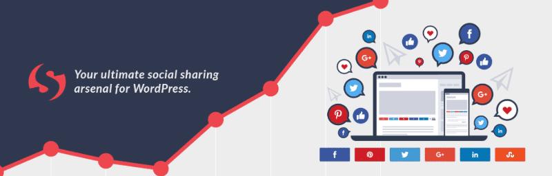 Social Warfare is among the fastest WordPress social sharing plugins in 2019.