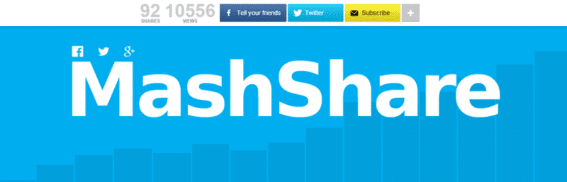 MashShare is among the fastest WordPress social sharing plugins in 2019.