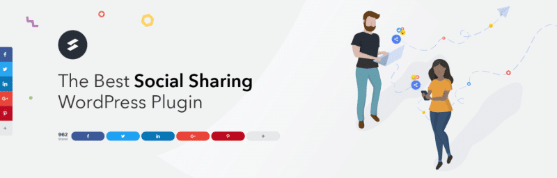 Social Snap is among the fastest WordPress social sharing plugins in 2019.