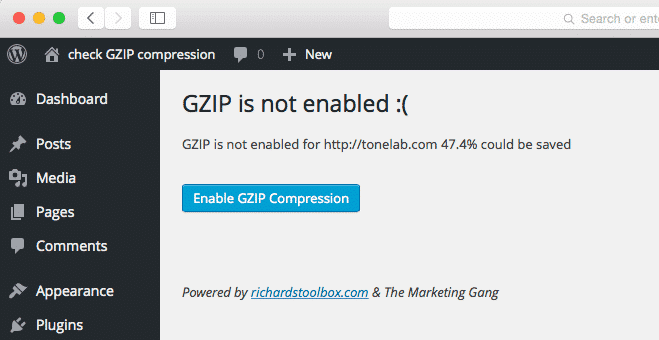 What is GZIP Compression for WordPress?