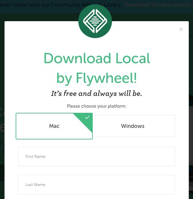 Local by Flywheel Localhost Installation
