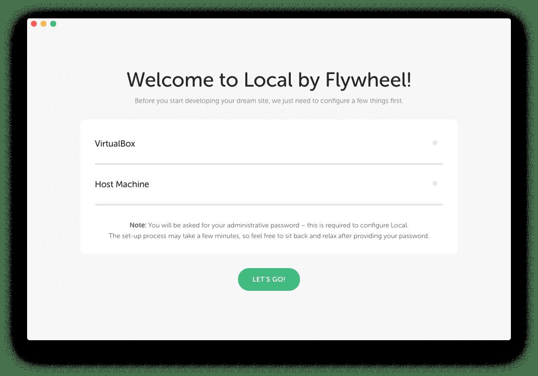 Local by Flywheel Localhost Virtualbox