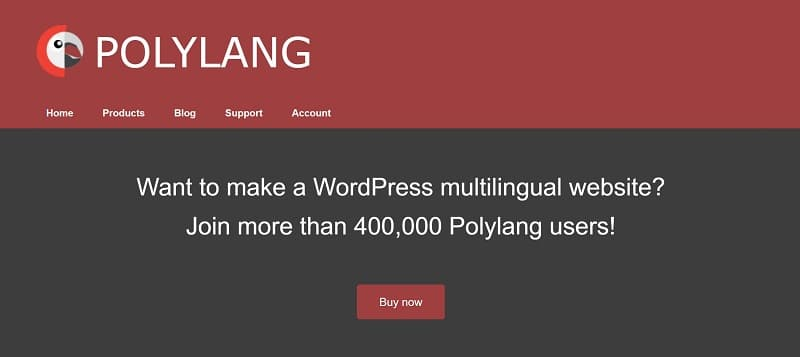 Polylang is among the fastest WordPress translation plugins