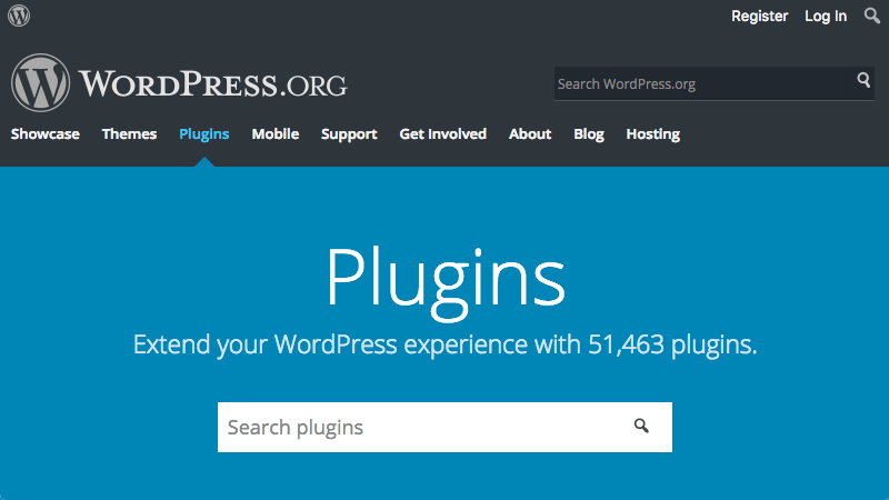 wordpress.org plugin repository