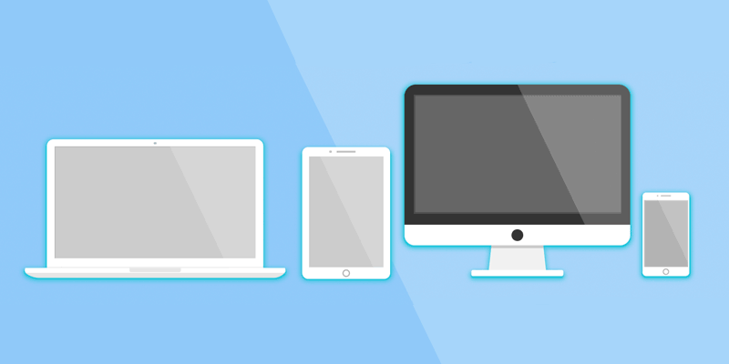 Different screen sizes