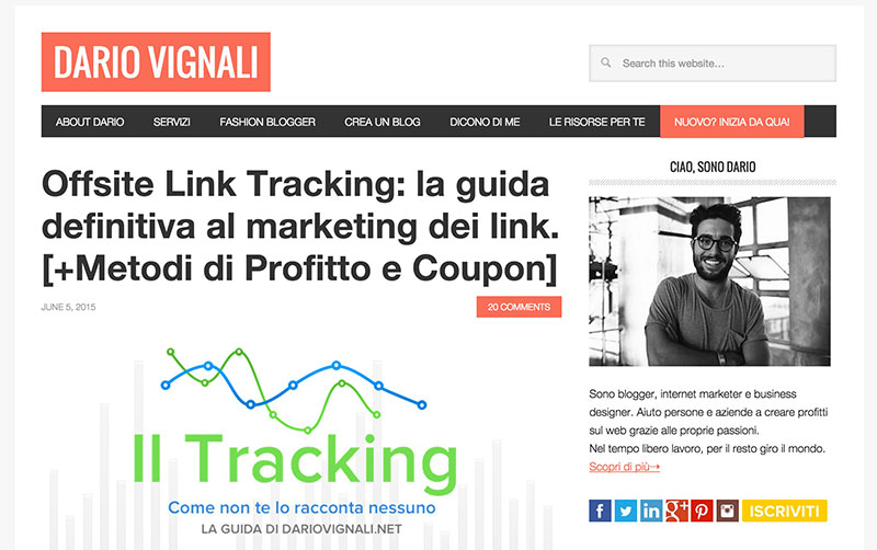 Dario Vignalli -homepage